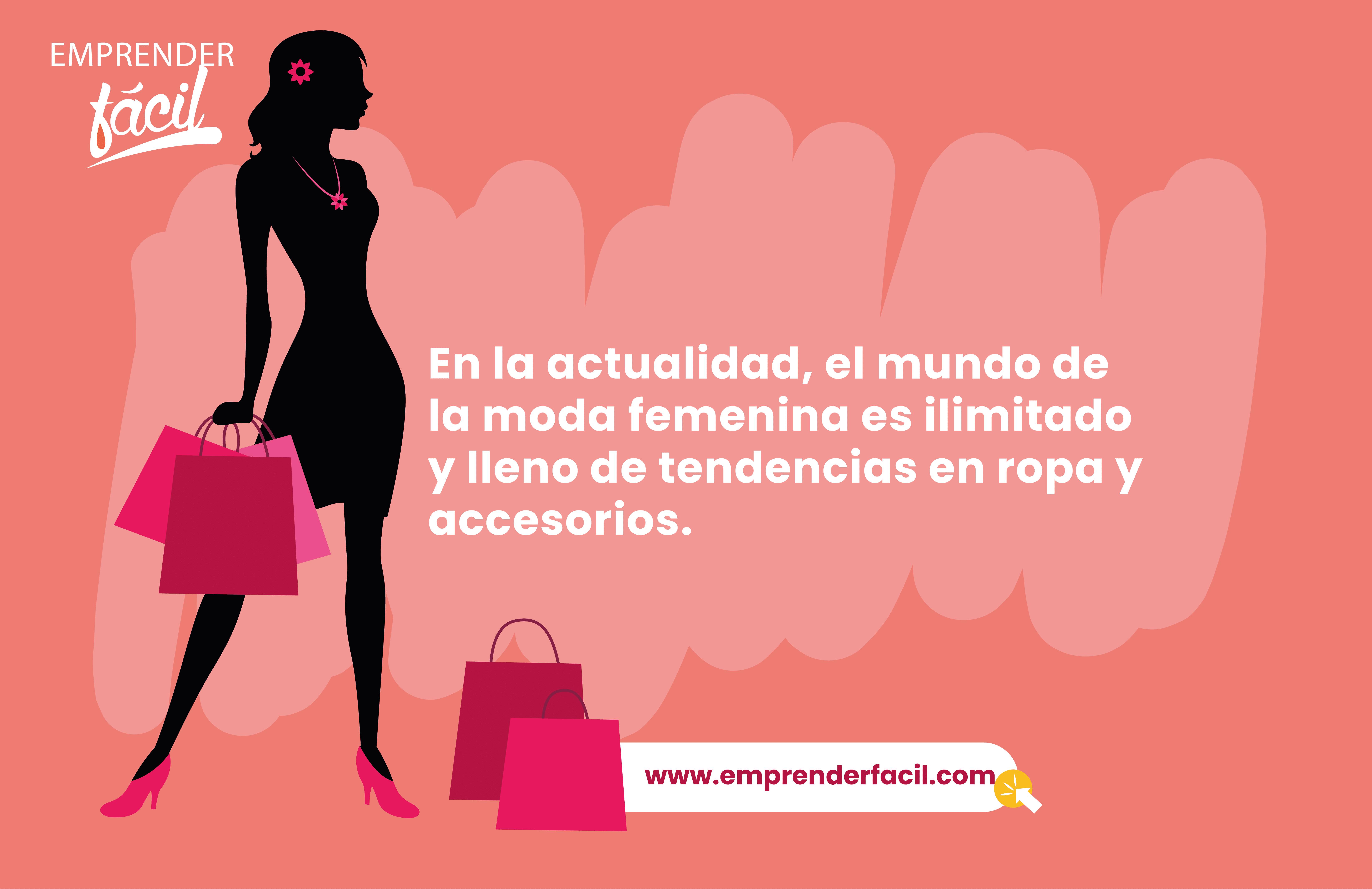 La moda femenina es ilimitada.
