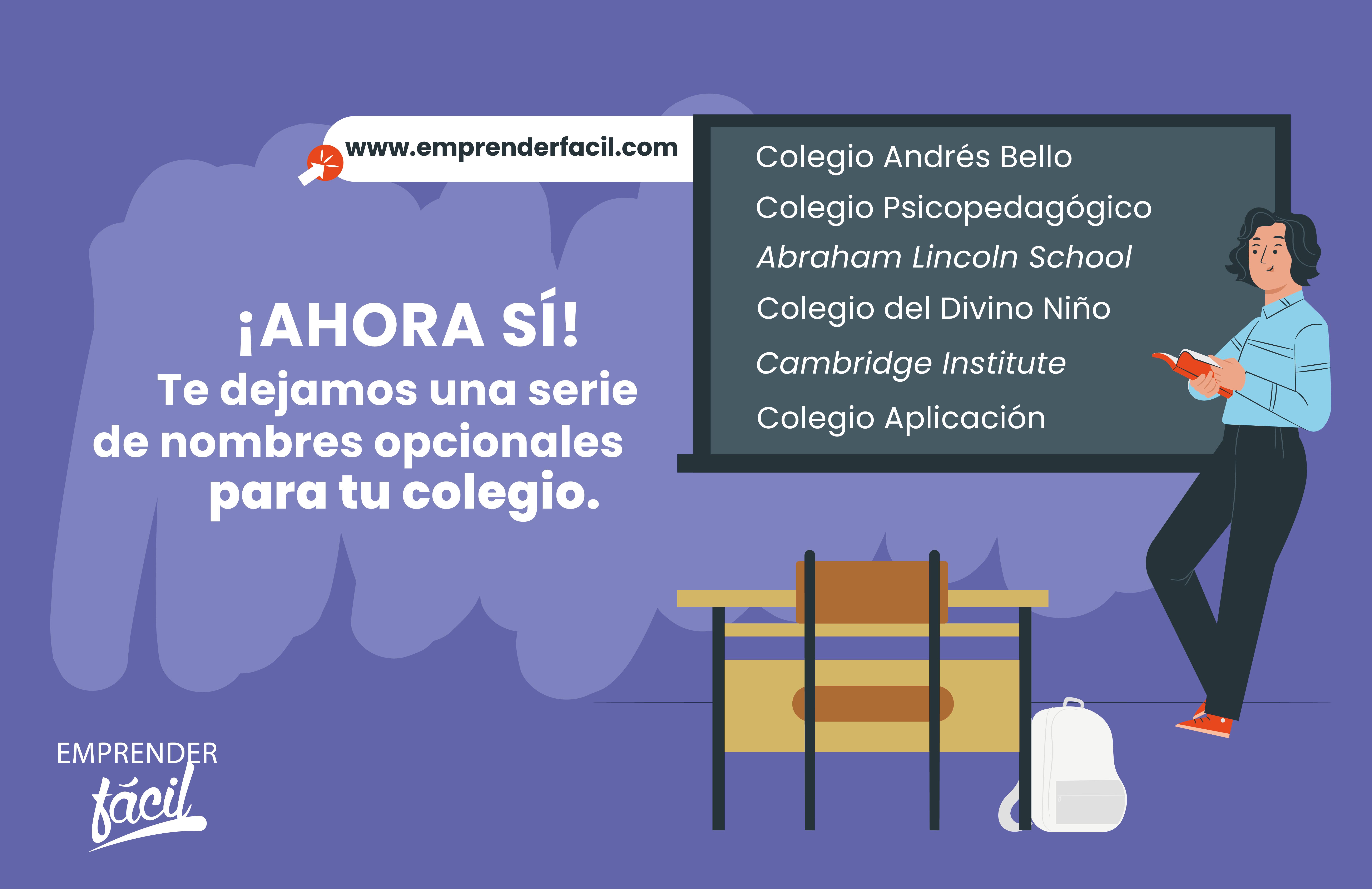 ¡Elige el mejor para tu colegio!