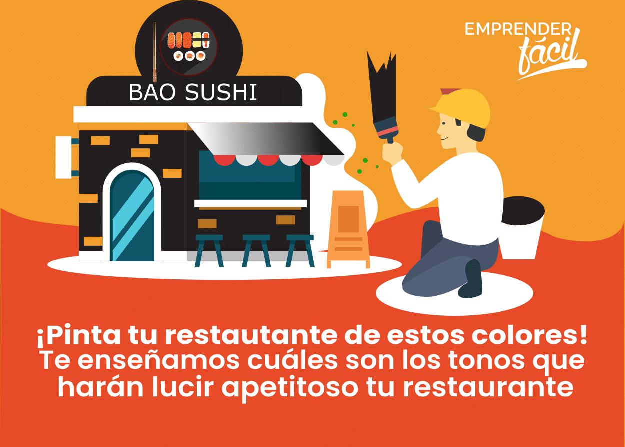Colores para Restaurantes ¡Llamativos y exquisitos!