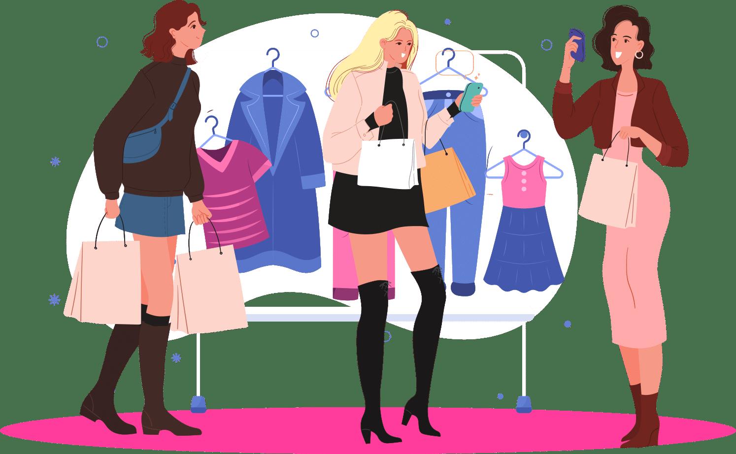 Colores para tiendas de ropa