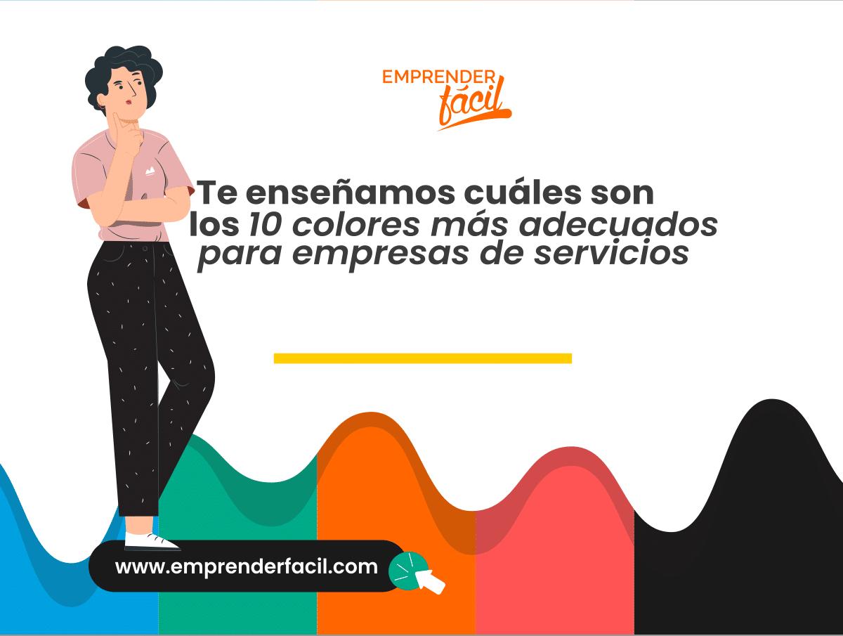 Los colores para Empresas de Servicios