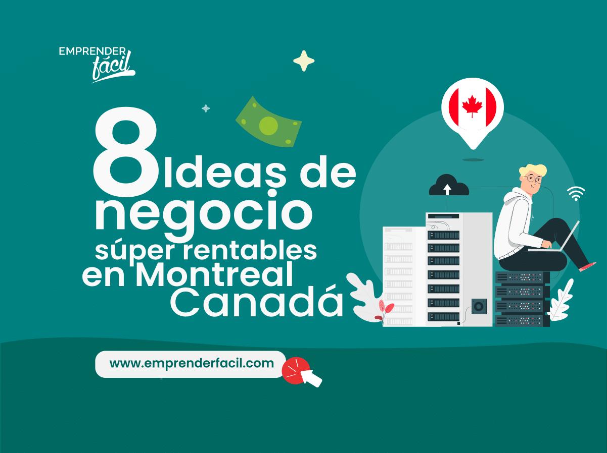 Negocios rentables en Montreal
