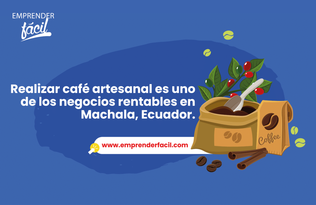 Café como negocio  rentable en Machala.