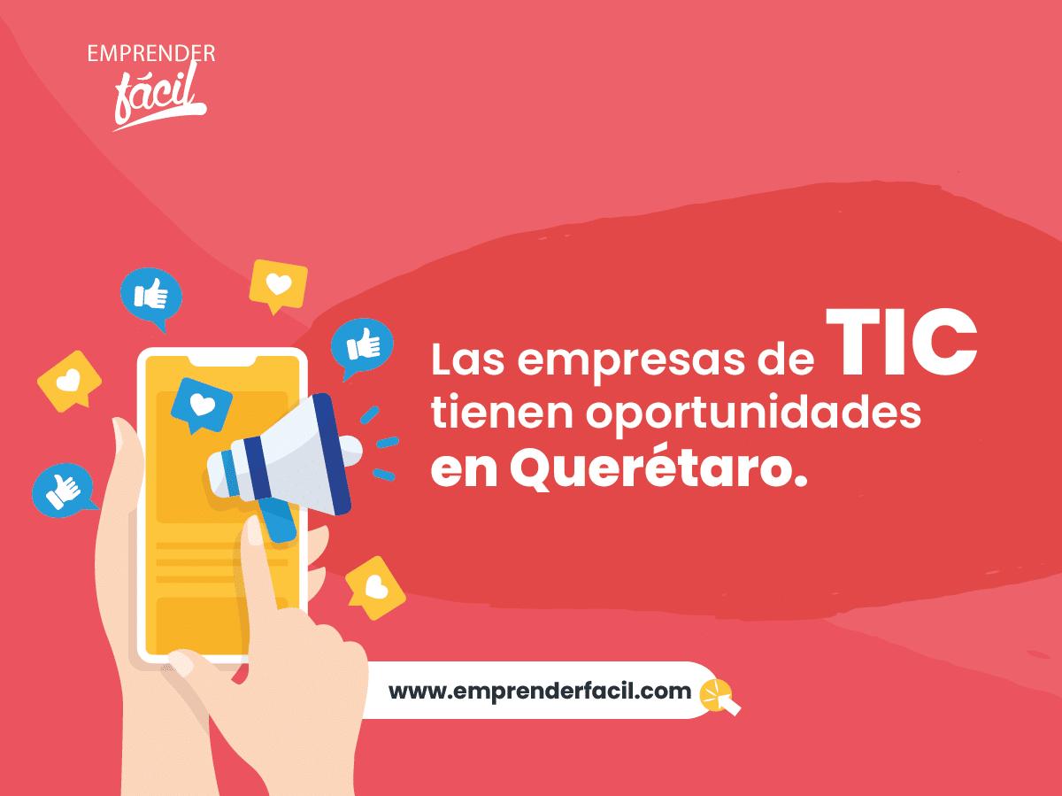 Empresas de TIC tienen oportunidades en Querétaro.