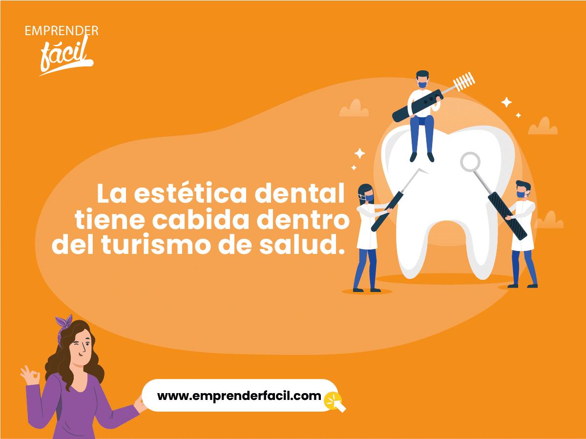 La estética dental tiene cabida dentro del turismo de salud.
