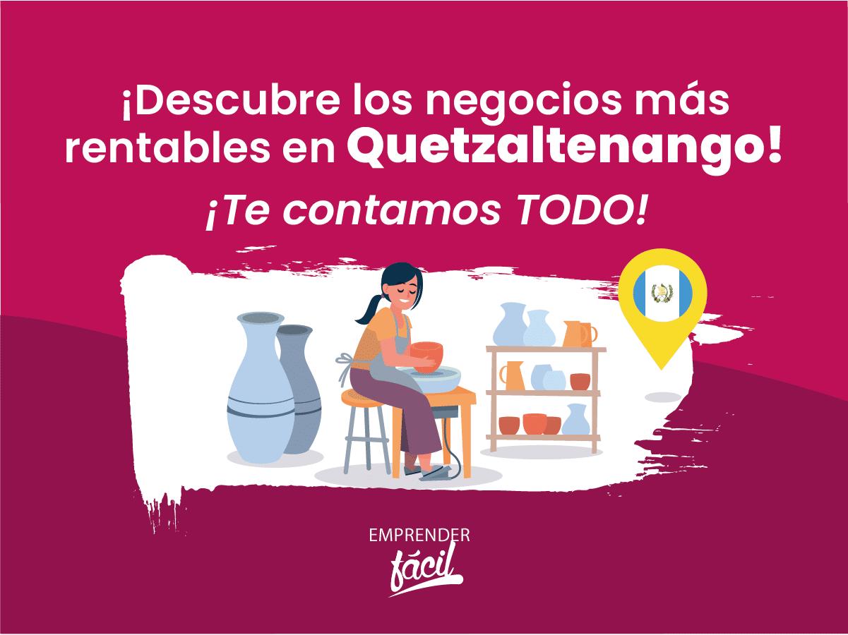 Negocios rentables en Quetzaltenango, Guatemala ¡Muy buenos!