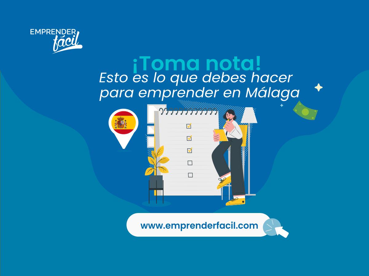 Pasos para emprender negocios rentables en Málaga