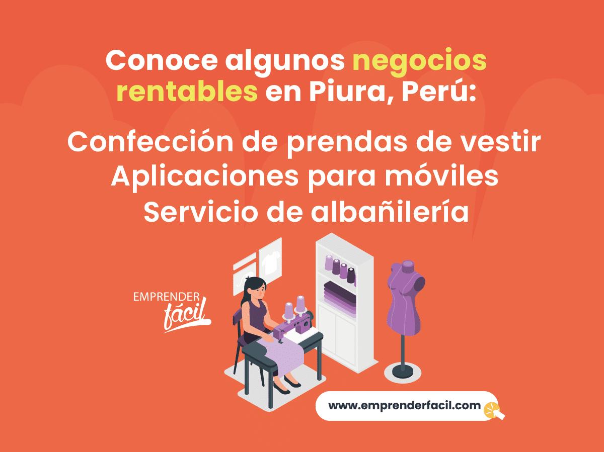 Negocios rentables en Piura.
