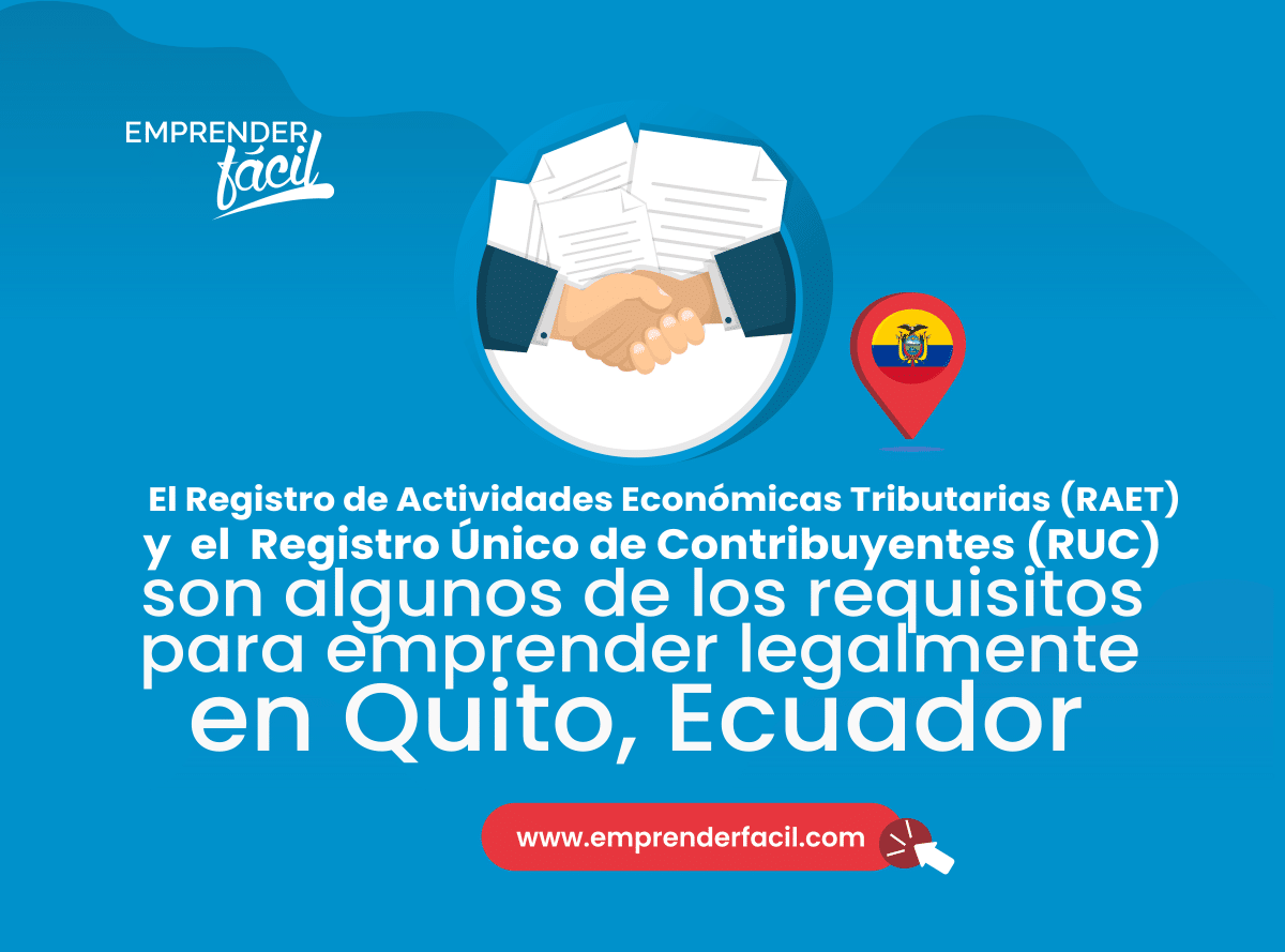 Requisitos para emprender en Quito, Ecuador