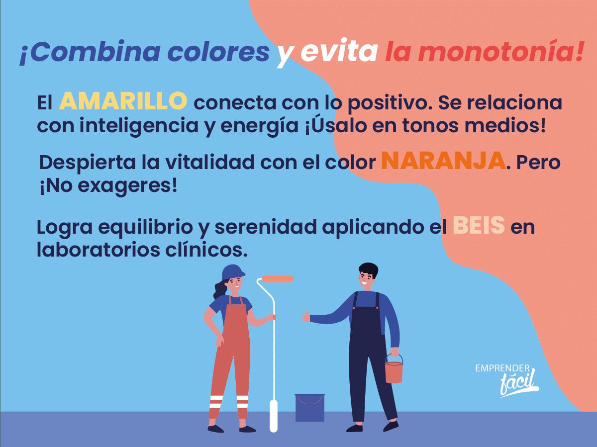 Colores para laboratorios clínicos