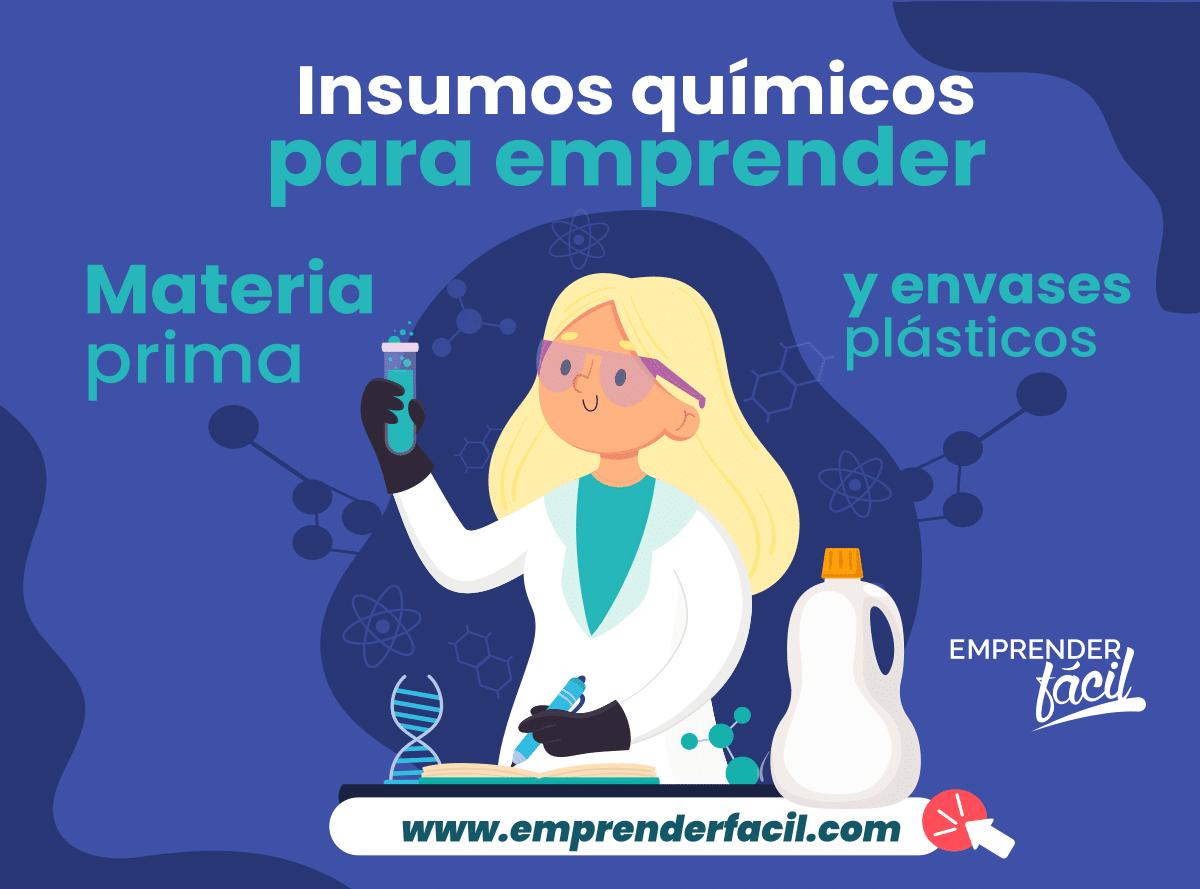 insumos para empreder en el área química en Maracay