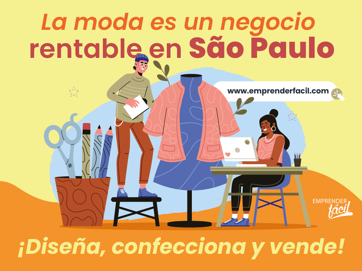 La moda es un negocio rentable en São Paulo.