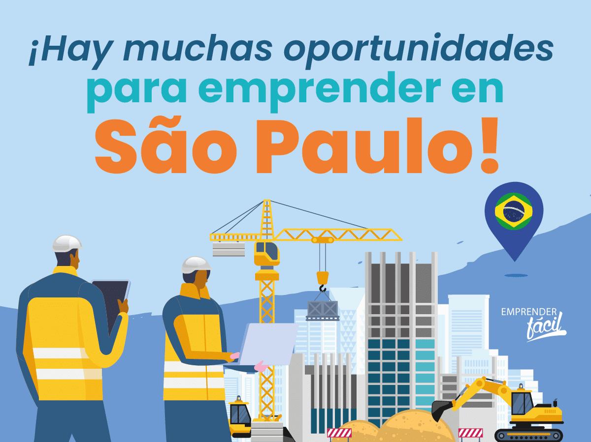 Negocios Rentables en São Paulo, Brasil. Con muchas oportunidades