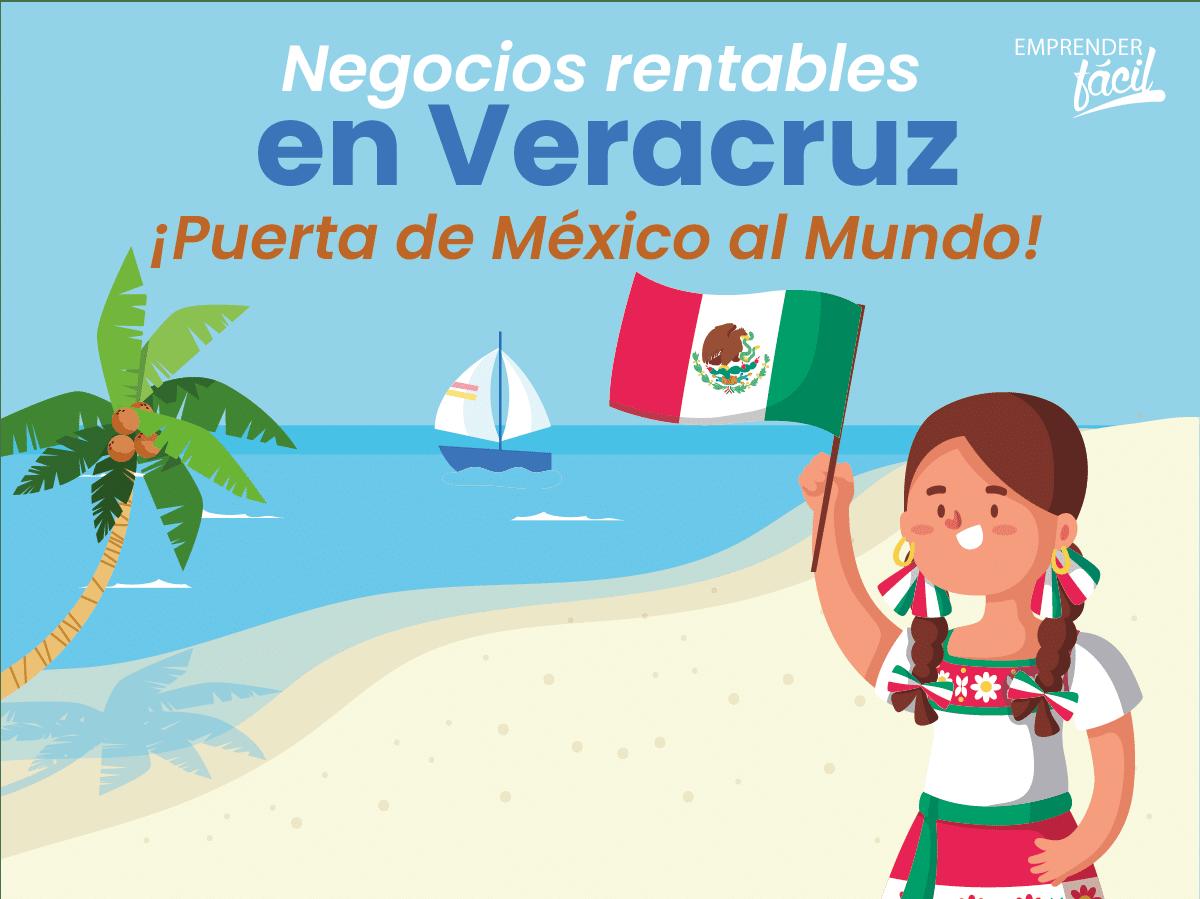Negocios rentables en Veracruz, México. Varias opciones