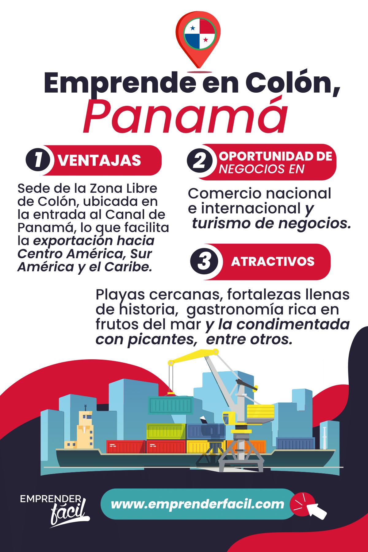 Emprende en Colón, Panamá