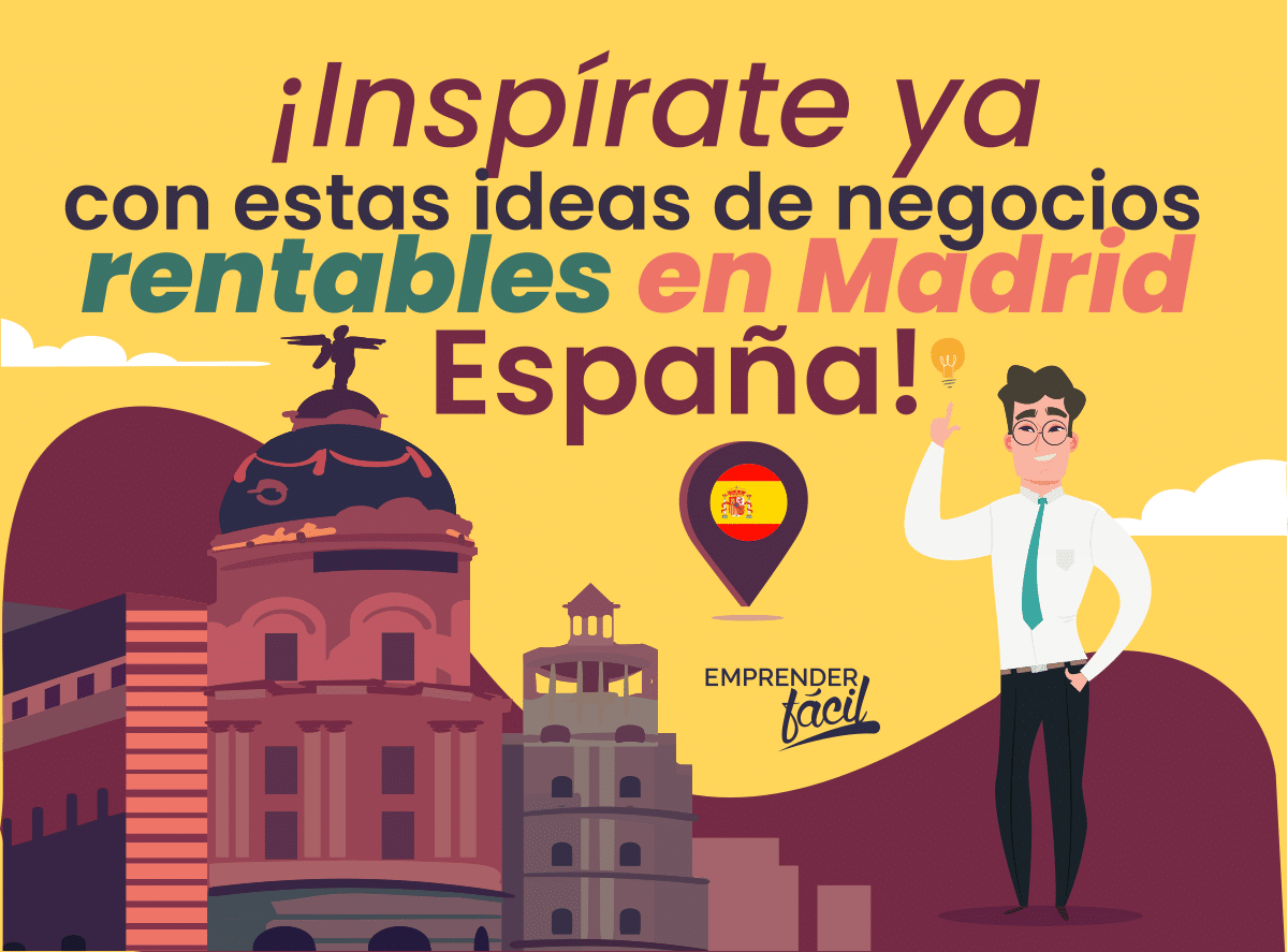 Negocios rentables en Madrid, España. Opciones variadas