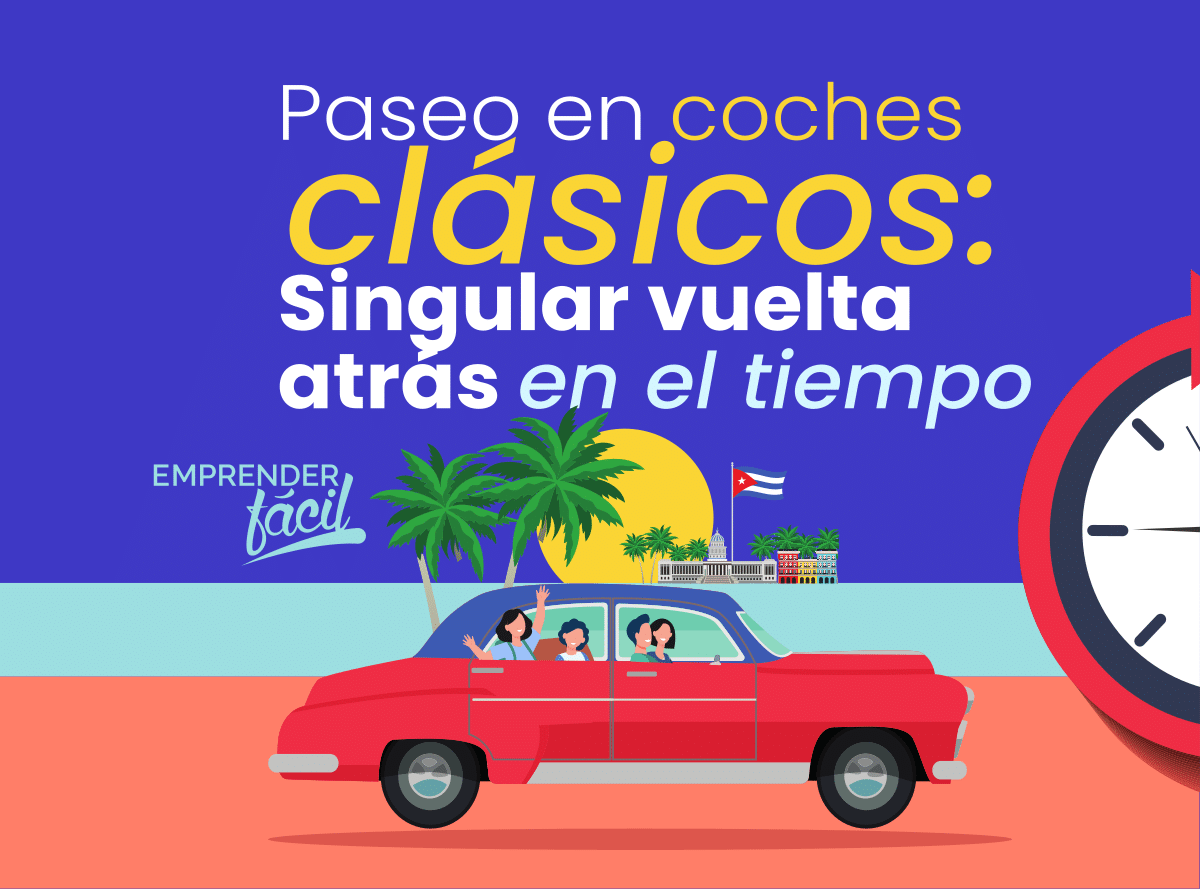 Los paseos en coches antiguos es un negocio rentables en Cuba