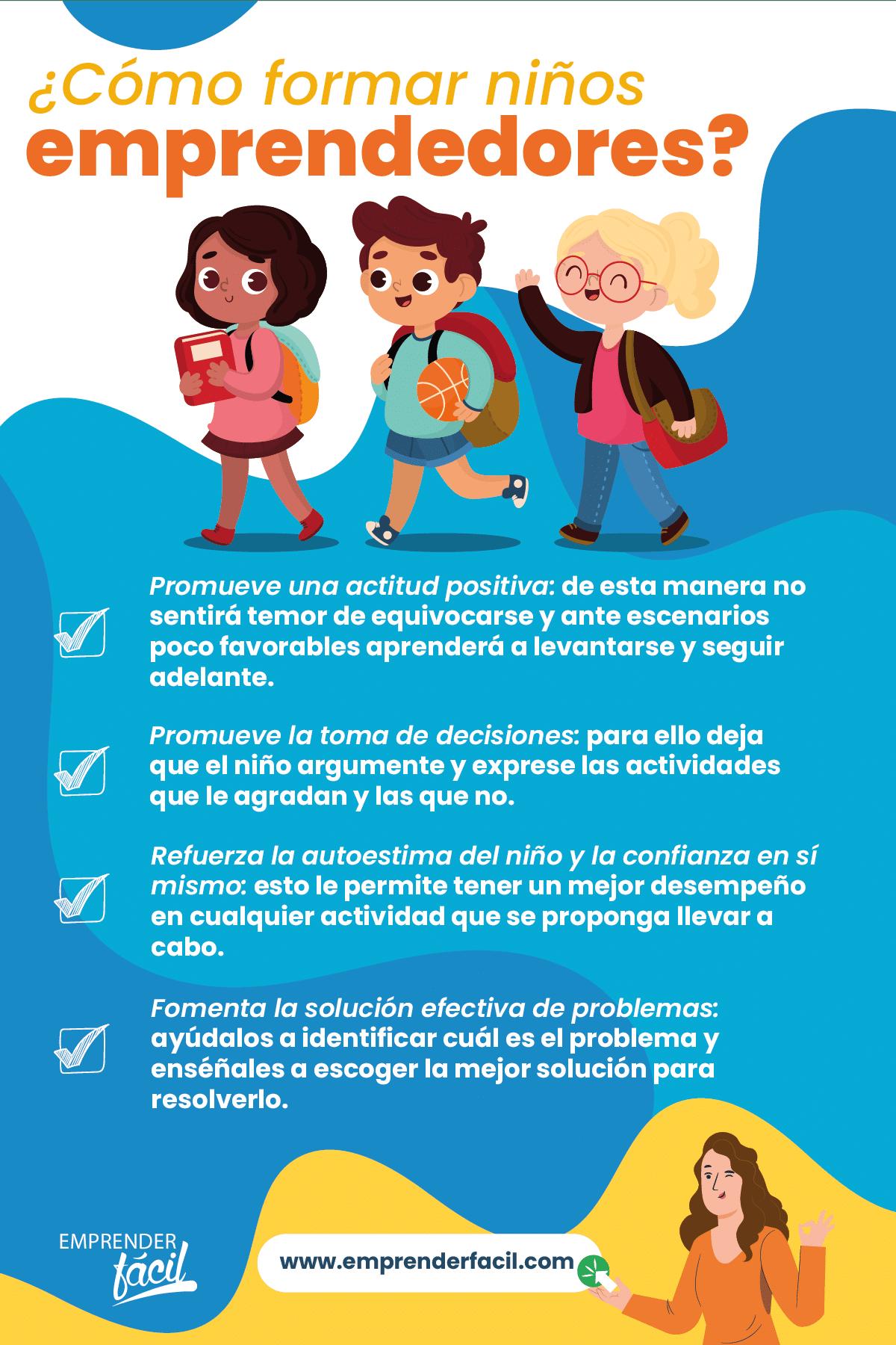 ¿Cómo formar niños emprendedores en Colombia?