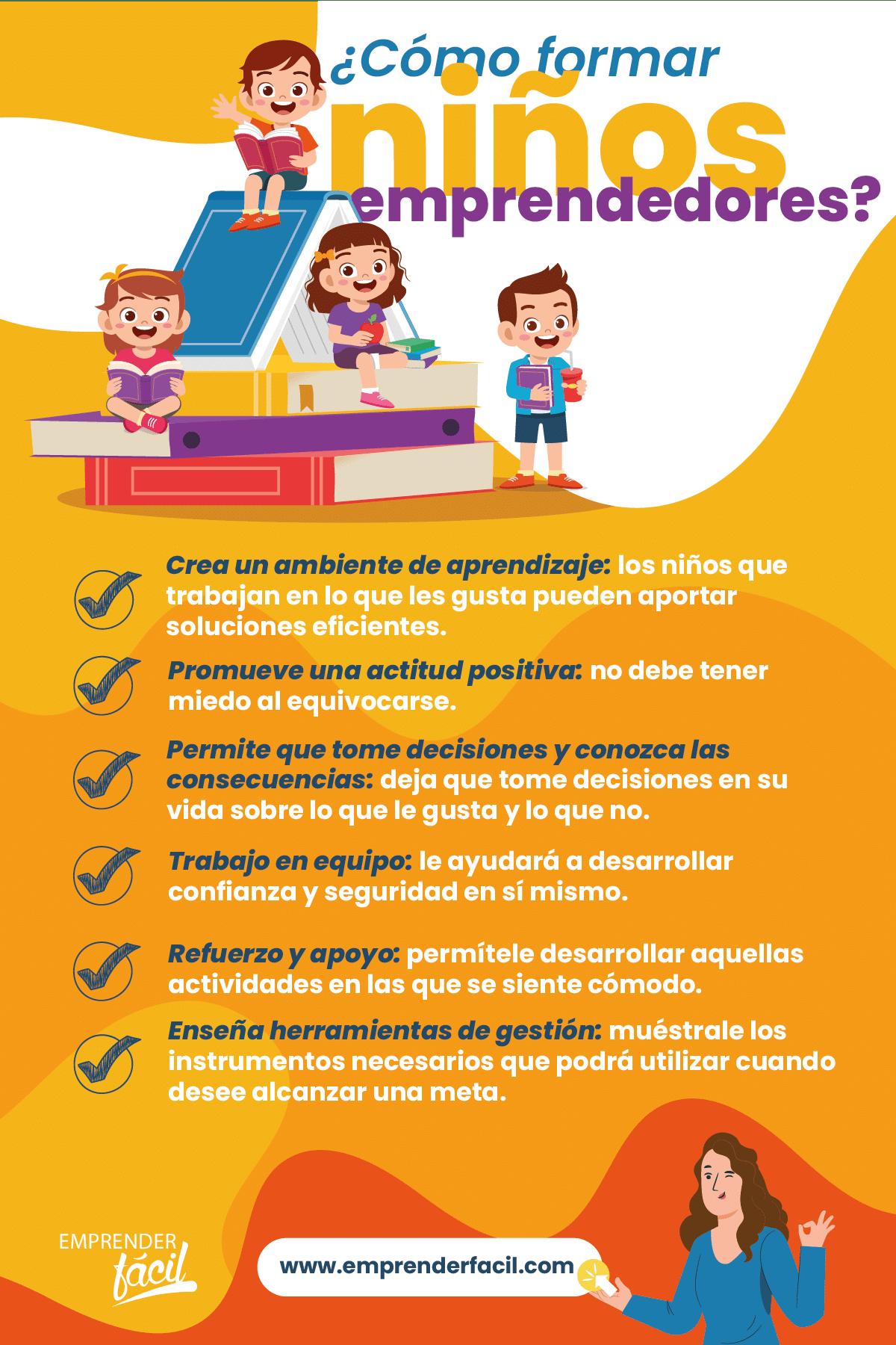 ¿Cómo formar niños emprendedores?