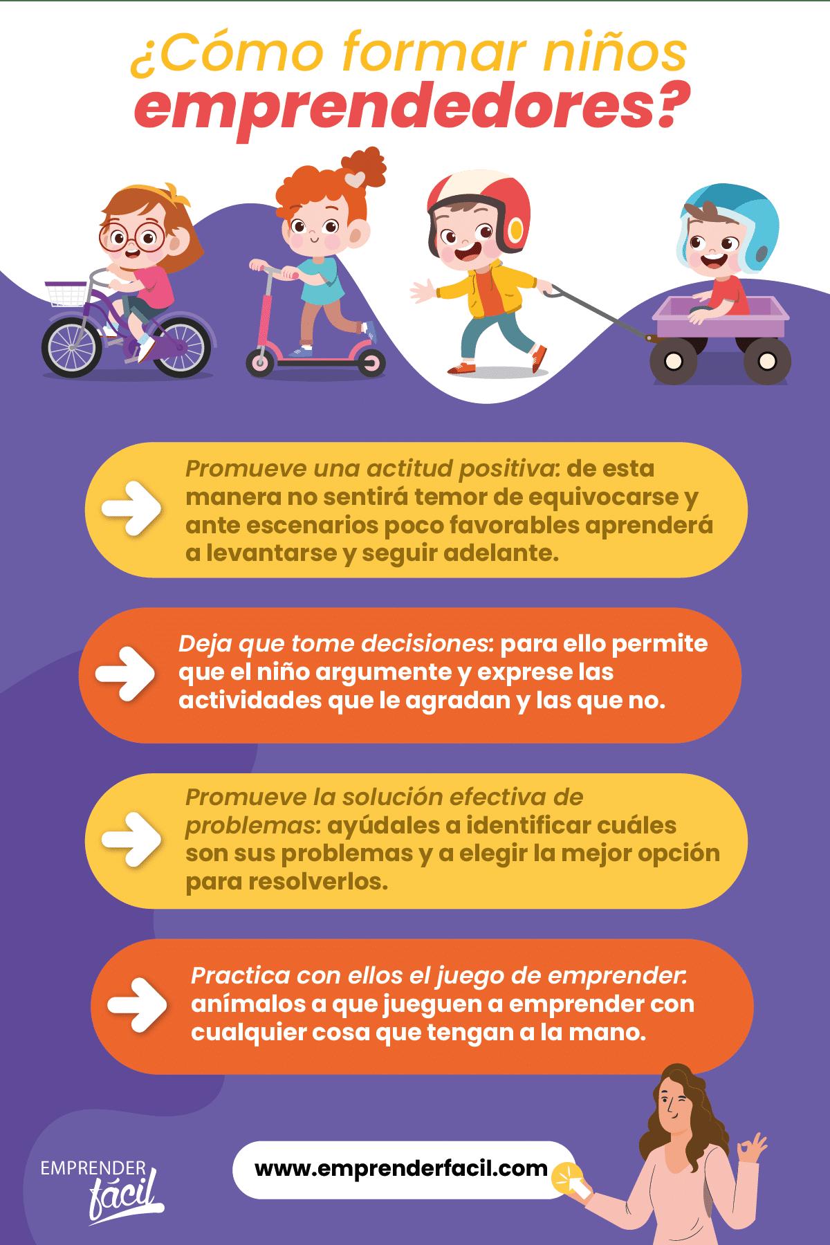 ¿Cómo formar niños emprendedores en Costa Rica?