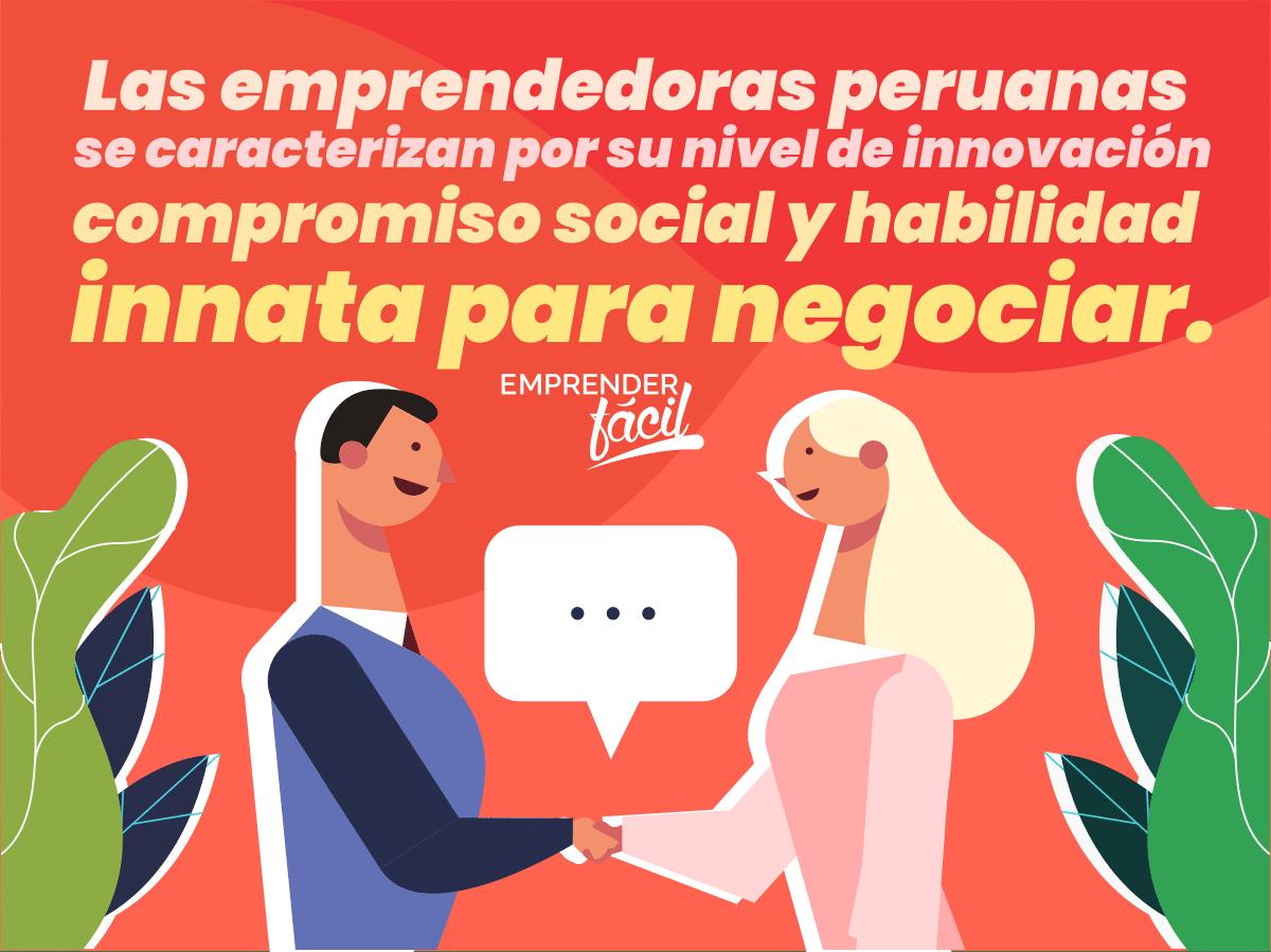 Así son las emprendedoras peruanas