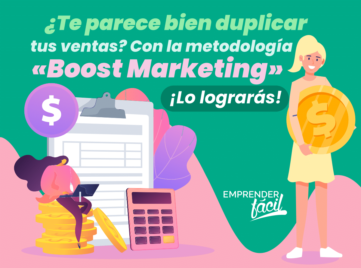 ¿Necesitas aumentar tus ventas? ¡Aplica Boost Marketing!