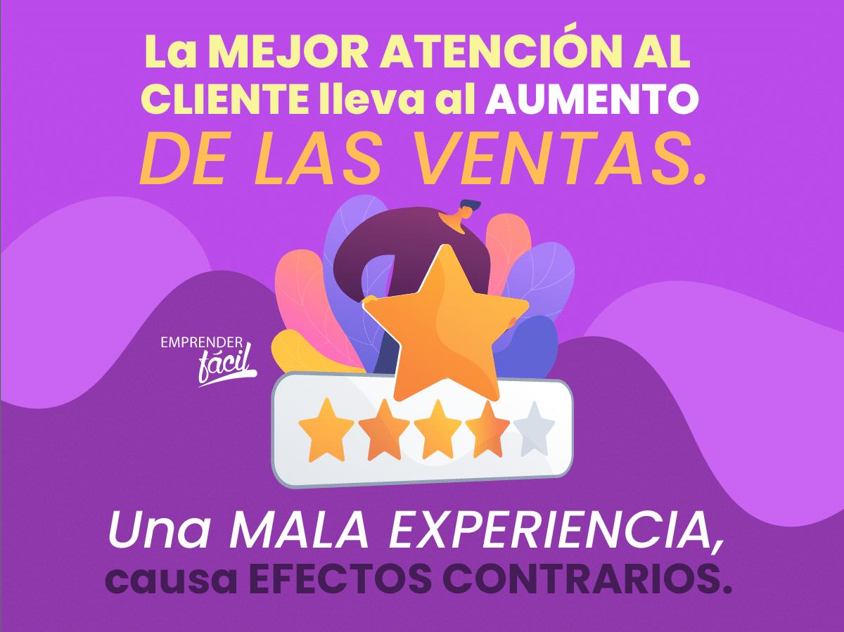 Ofrece la mejor atención al cliente potencial o real.
