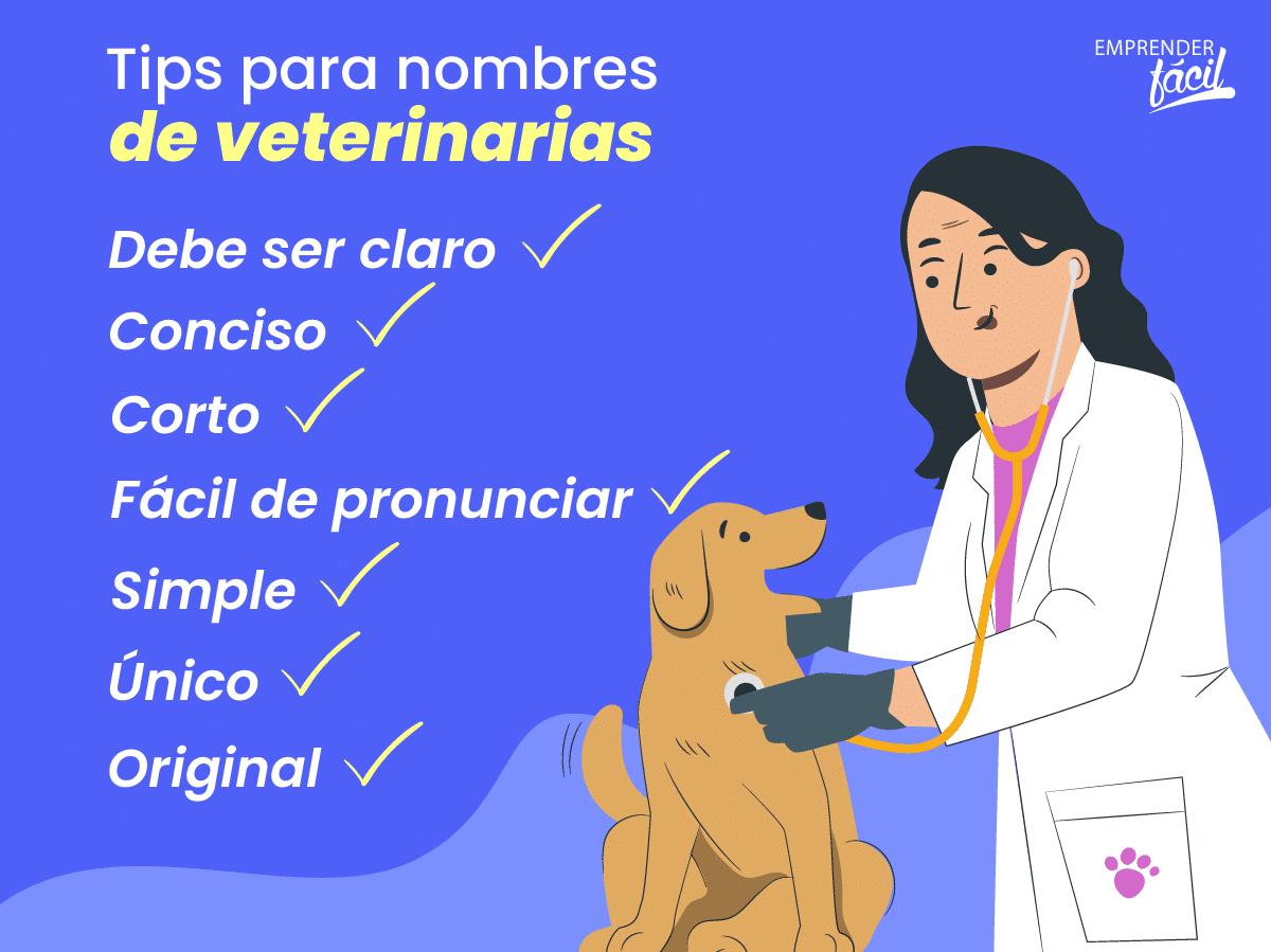 Tips para nombres de veterinarias.