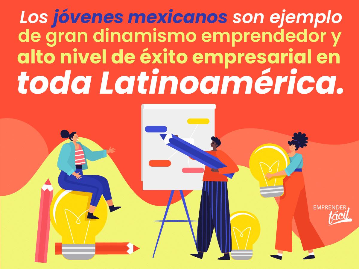 Emprendimiento juvenil mexicano.