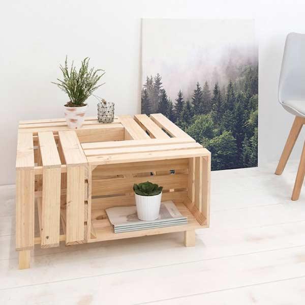 trabajos en manualidades desde casa para fabricar muebles con palets