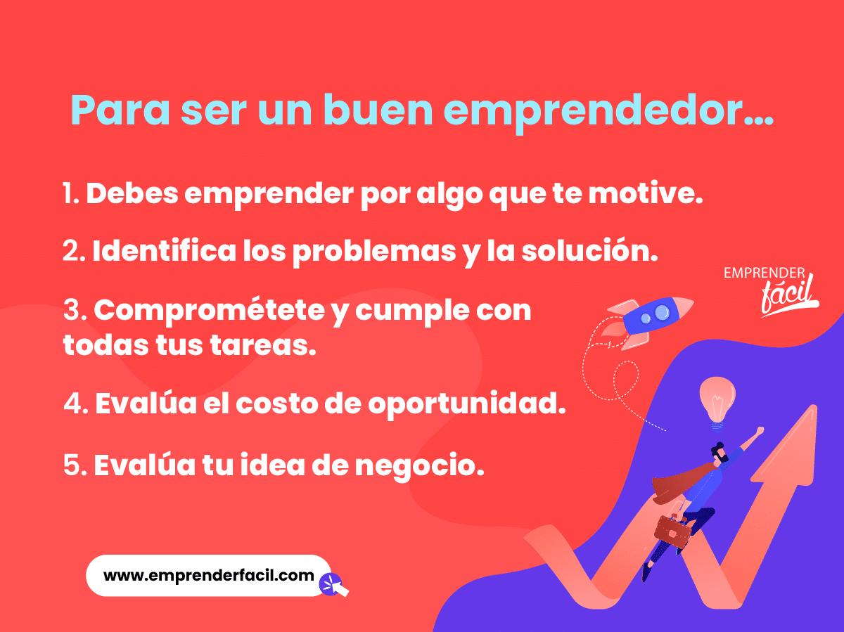 Para ser un buen emprendedor no puedes cometer los errores de fundación.