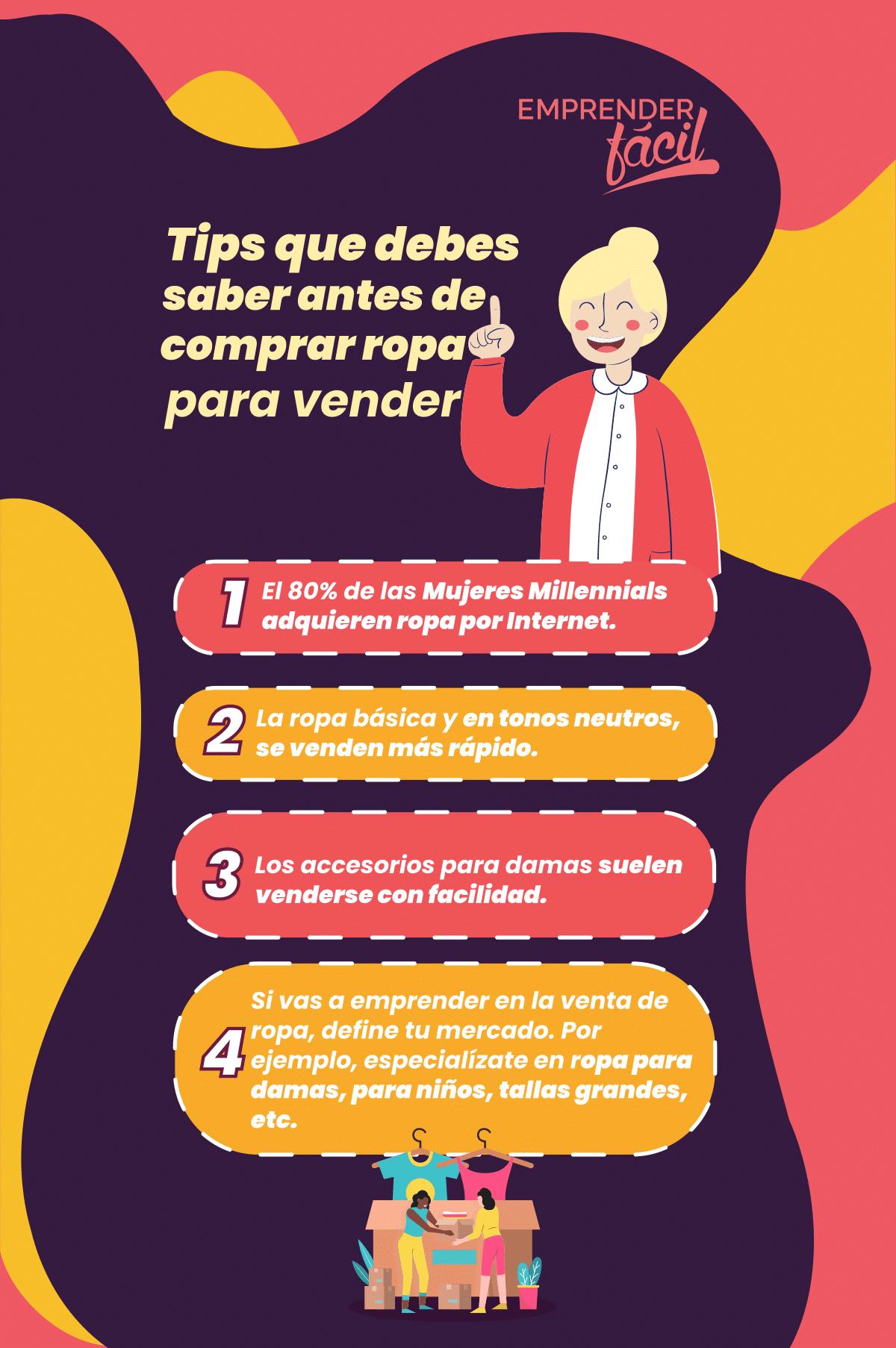Tips que debes saber antes de comprar ropa para vender